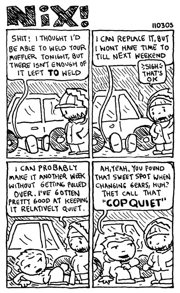 cop quiet