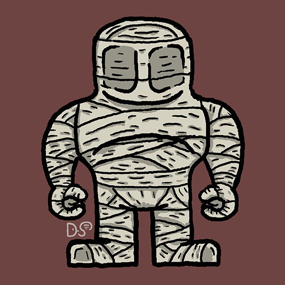 Mummy Robot