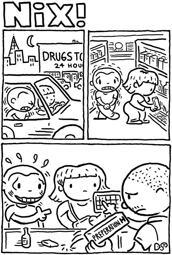 drugstore run