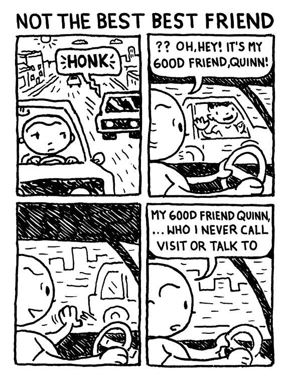 Not the best best friend.